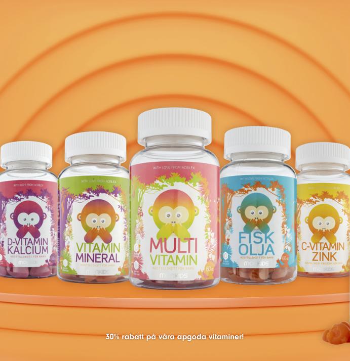 Monkids produkter underbarabarn-mässan 2021