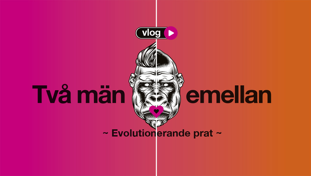 Peter Mäkelä Designer Två män emellan – En vlog med evolutionerande prat